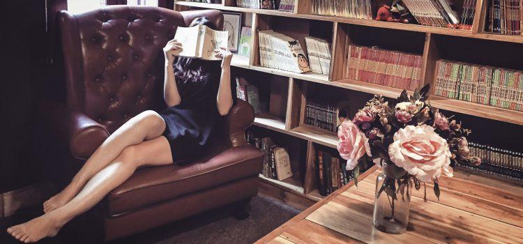 Wees een boekenwurm!